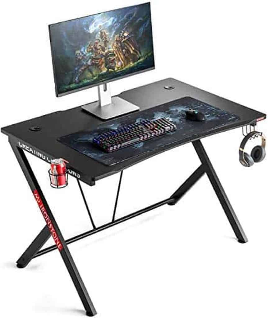 Mr. IRONSTONE Computer Gaming Desk
