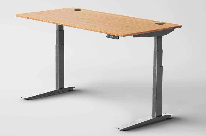 Jarvis Standing Desk Bamboo Top