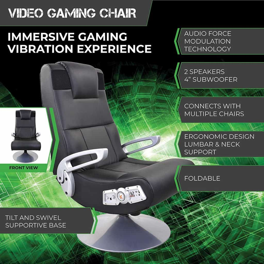 X Rocker SE 2.1 5127401 Pedestal Gaming Chair