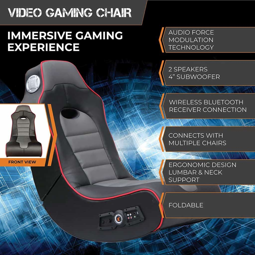 X Rocker Surge Bluetooth Gaming Chair
