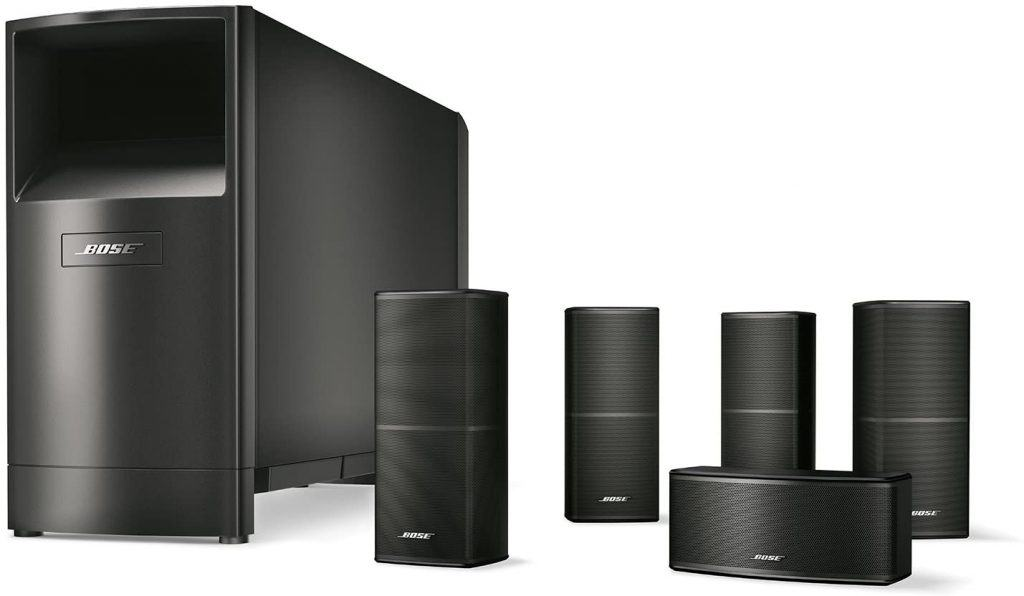 Most Expensive Gaming Speakers: Bose Acoustimass 10 Series V