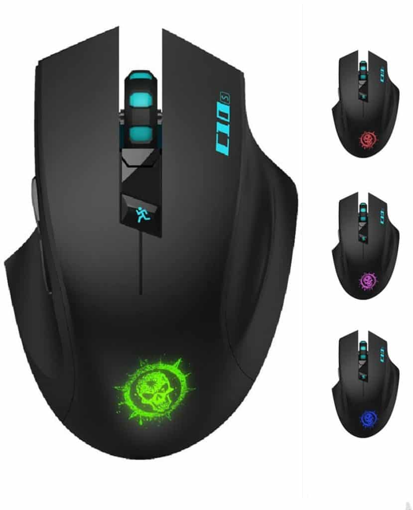 best silence gaming mice