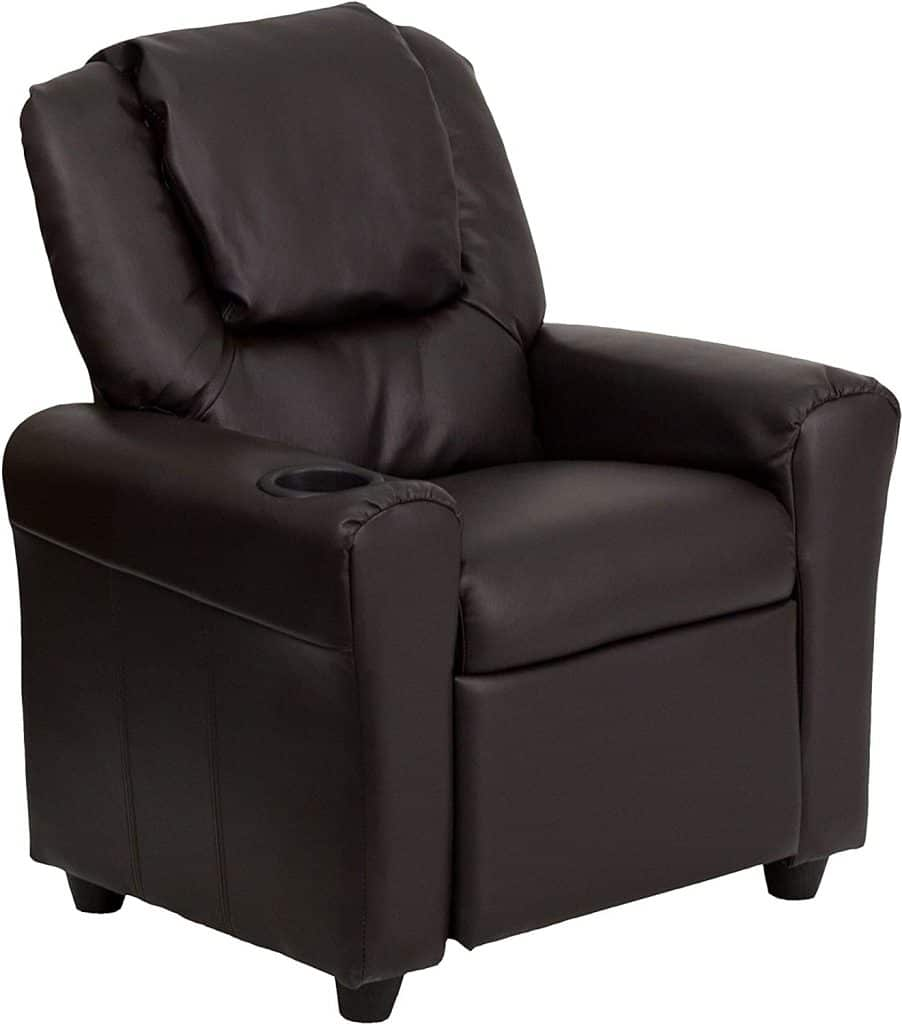 Leather Kids Recliner Gaming Chair