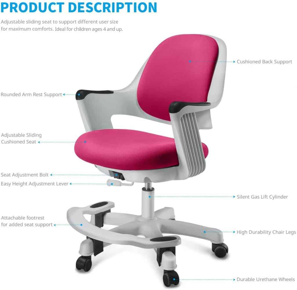 SitRite Kids Gaming Chair best gaming chairs for kids
