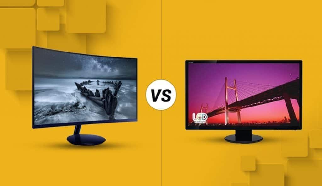 Curved vs. Flat Monitors