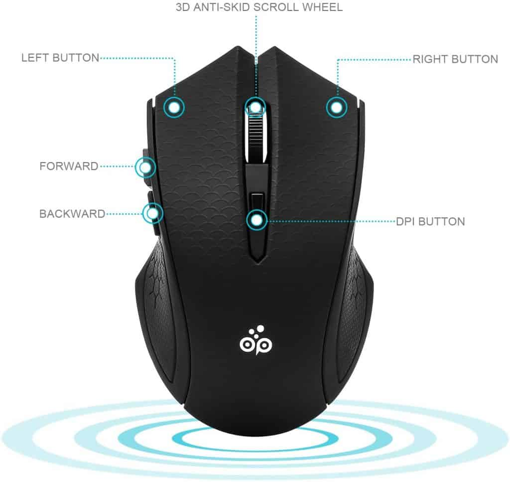 Emopeak Silent Wireless Mouse