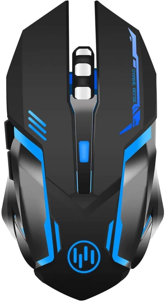 Scettar Wireless Silent Gaming Mouse