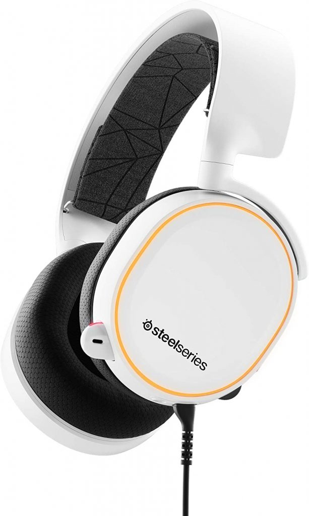 SteelSeries Arctis 5 Best White Gaming Headsets