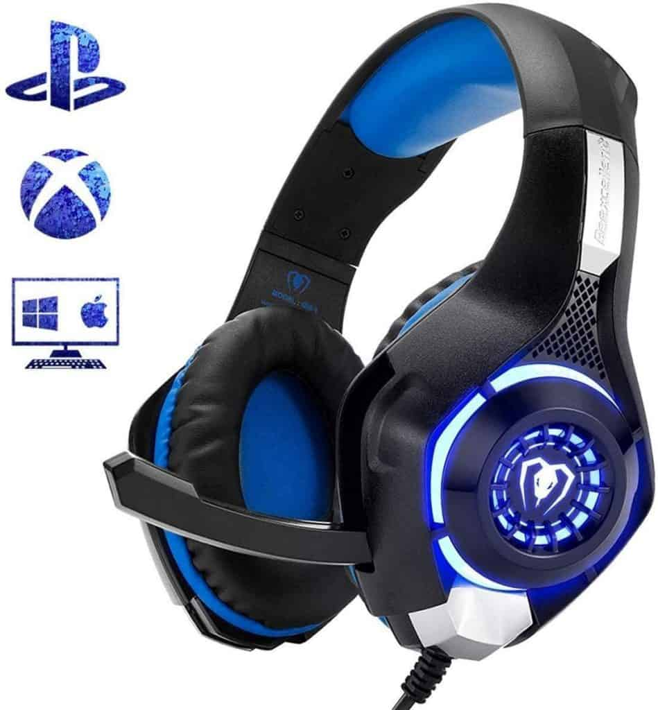 Beexcellent Gaming Headset for big heads