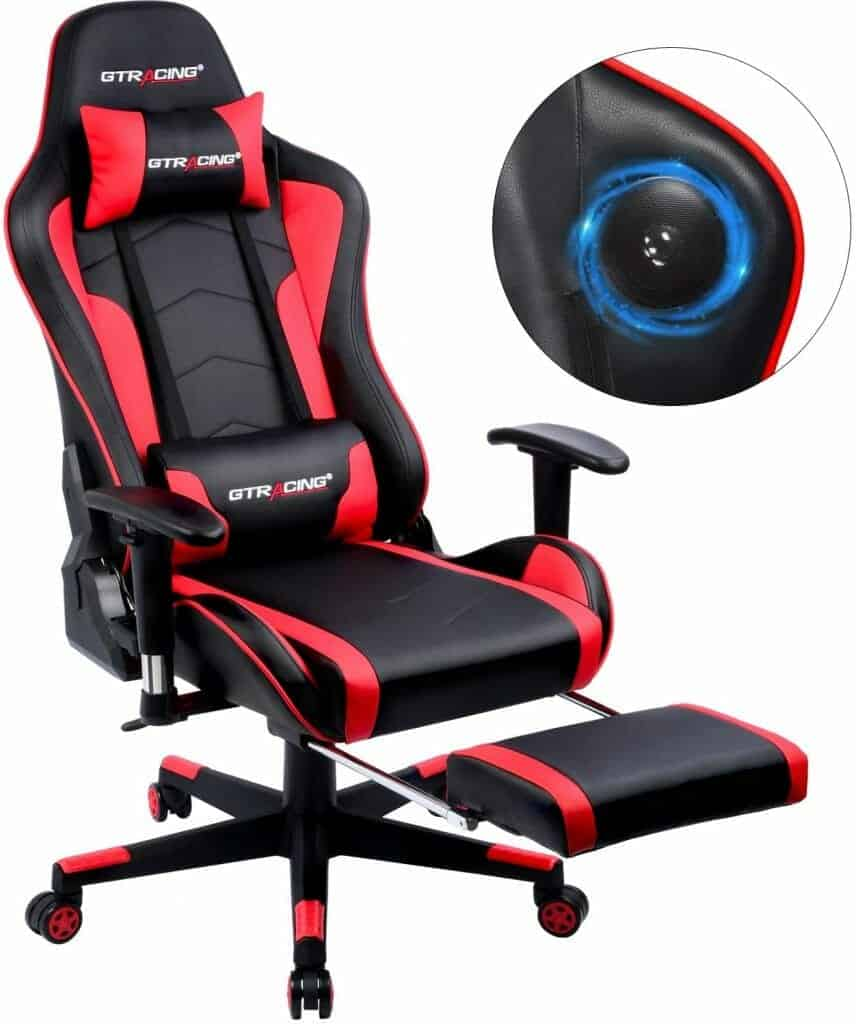 GTRACING Gaming Chair with Footrest
