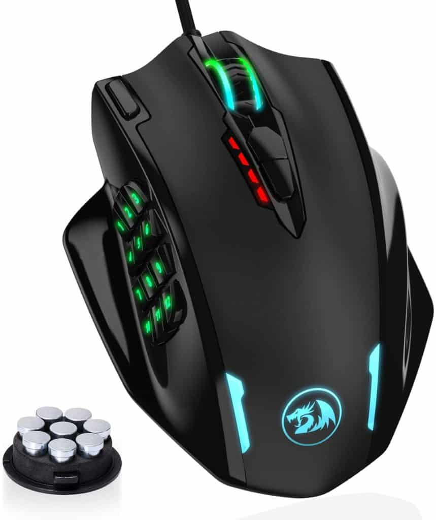 Redragon M908 Impact RGB LED MMO Mouse