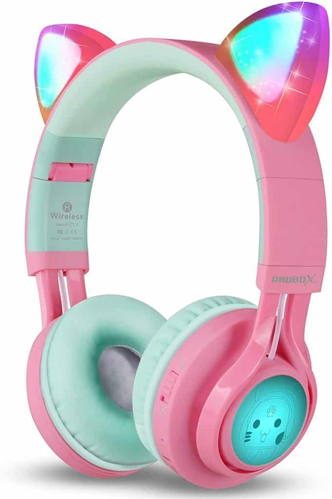 Riwbox Cat Ear Headset
