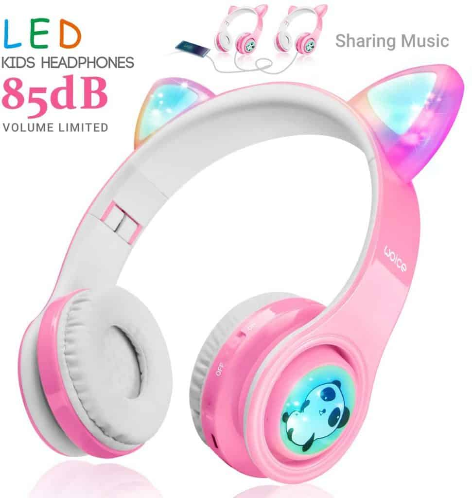 WOICE Girls Wireless Headphones