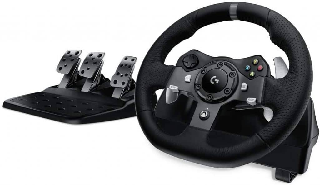 Logitech Dual-Motor Feedback Driving Force G290 Gaming Racing Wheel