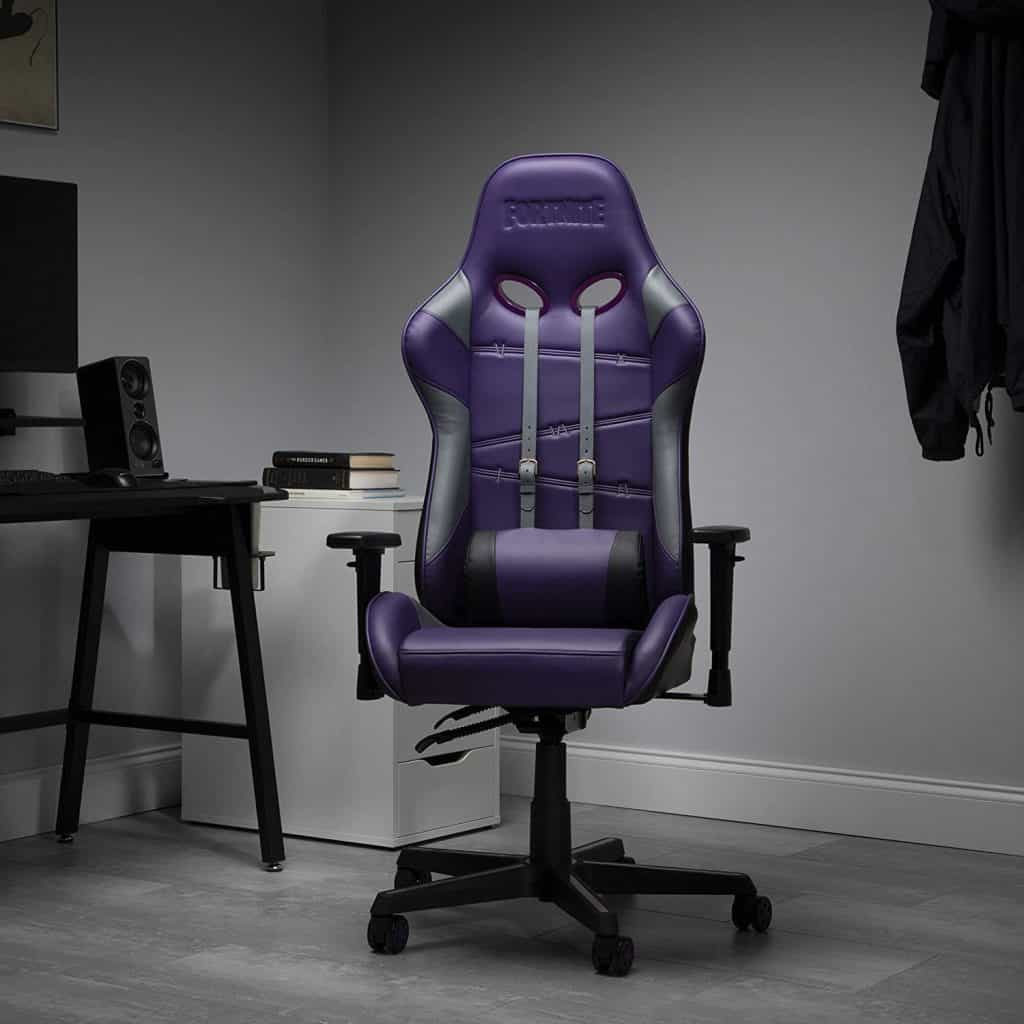 RESPAWN RAVEN X Fortnite Purple Gaming Chair