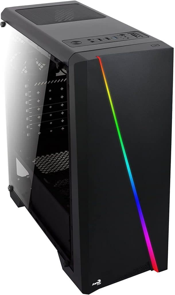 AeroCool Cylon RGB Mid Tower with Acrylic Side Window