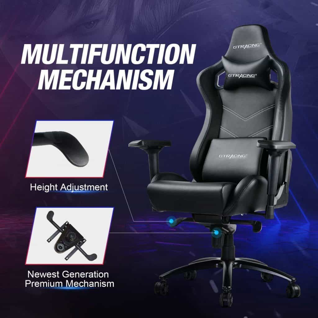 Gtracing Luxury Gaming Chair Big and Tall 400 lbs