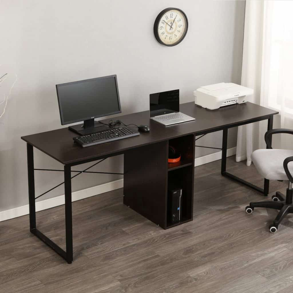Soges 2 Person Home Office Desk