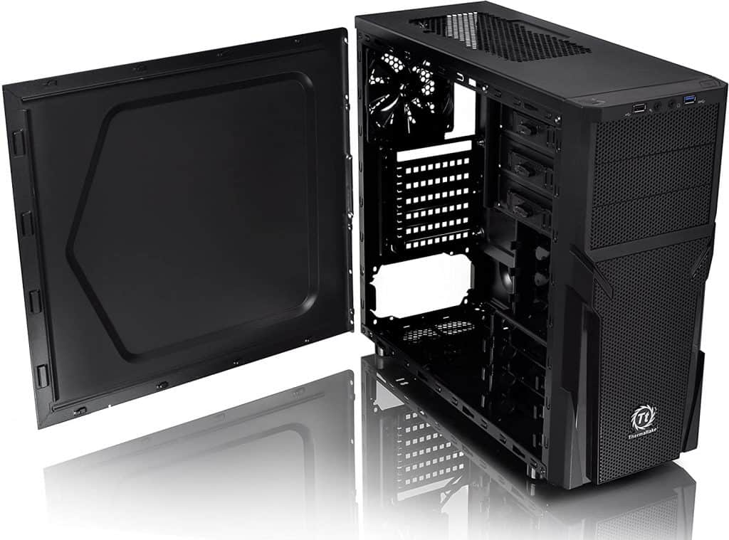Thermaltake Versa H21 SPCC ATX Mid Tower Computer Chassis