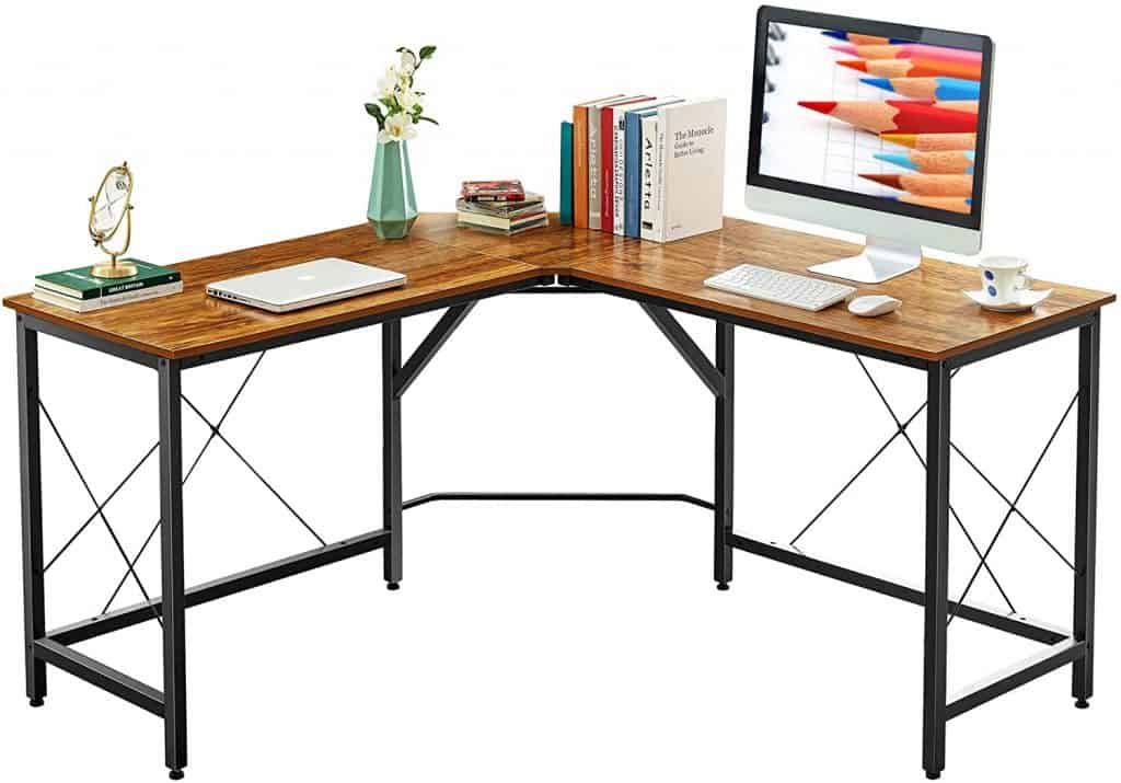 Mr IRONSTONE L Shaped Desk 59 Inches