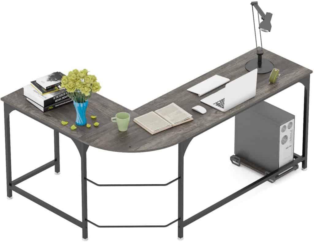 Teraves Reversible L-Shaped Desk Corner