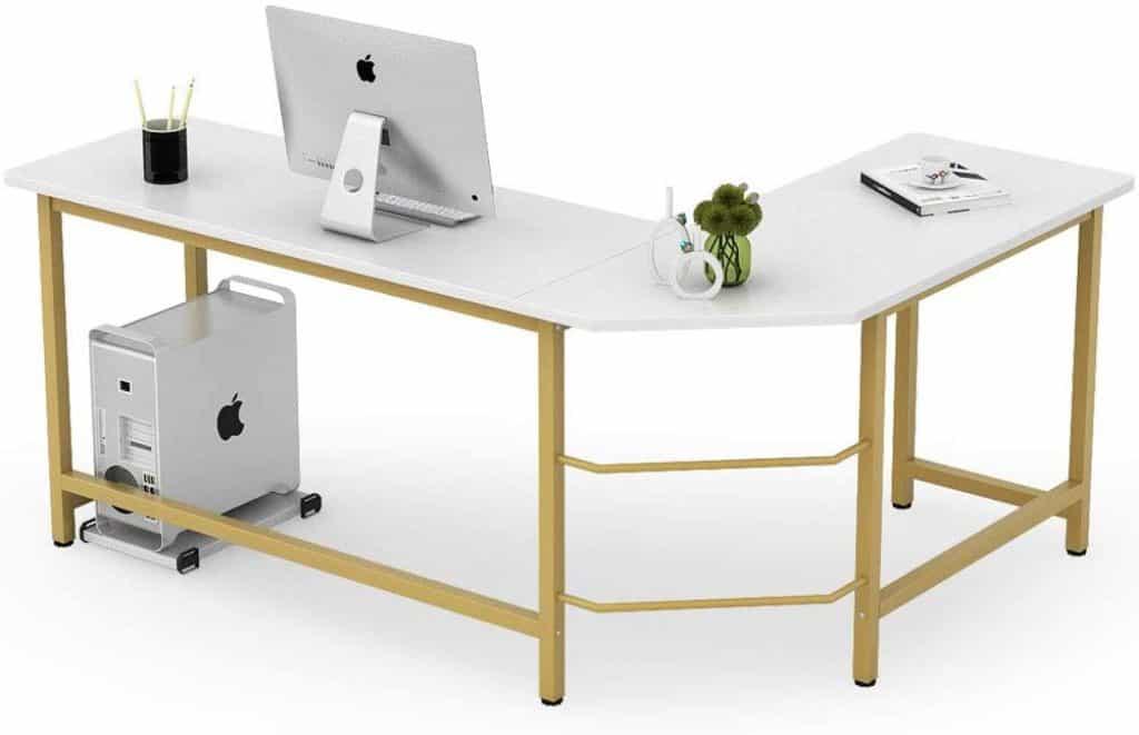 Tribesigns Modern L Shaped Desk