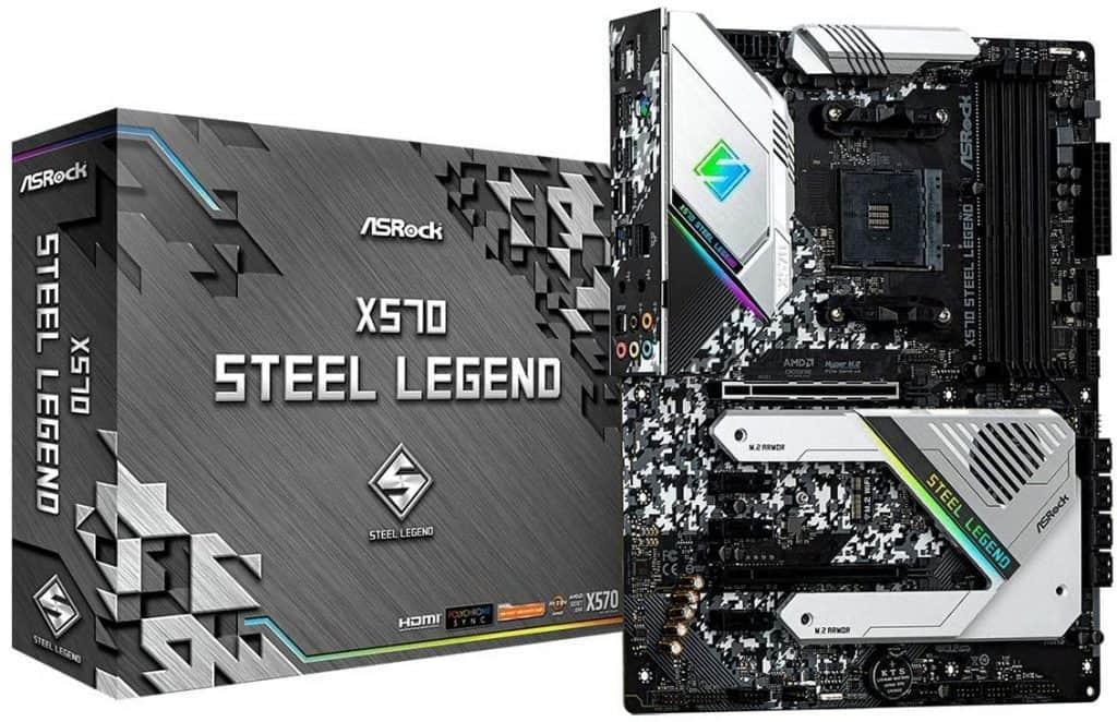 ASRock AM4-X570 Steel Legend