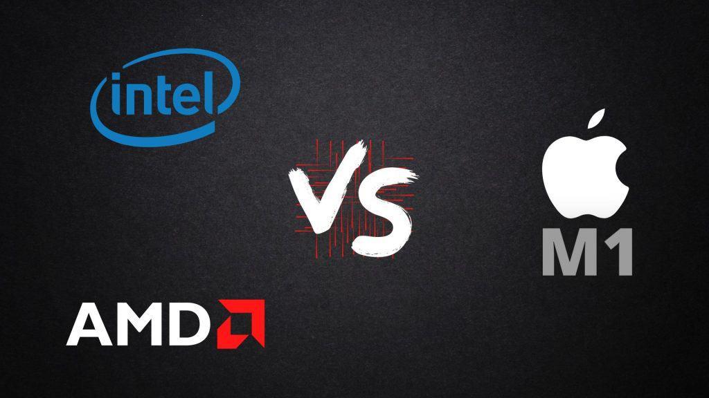 Intel vs AMD vs Apple