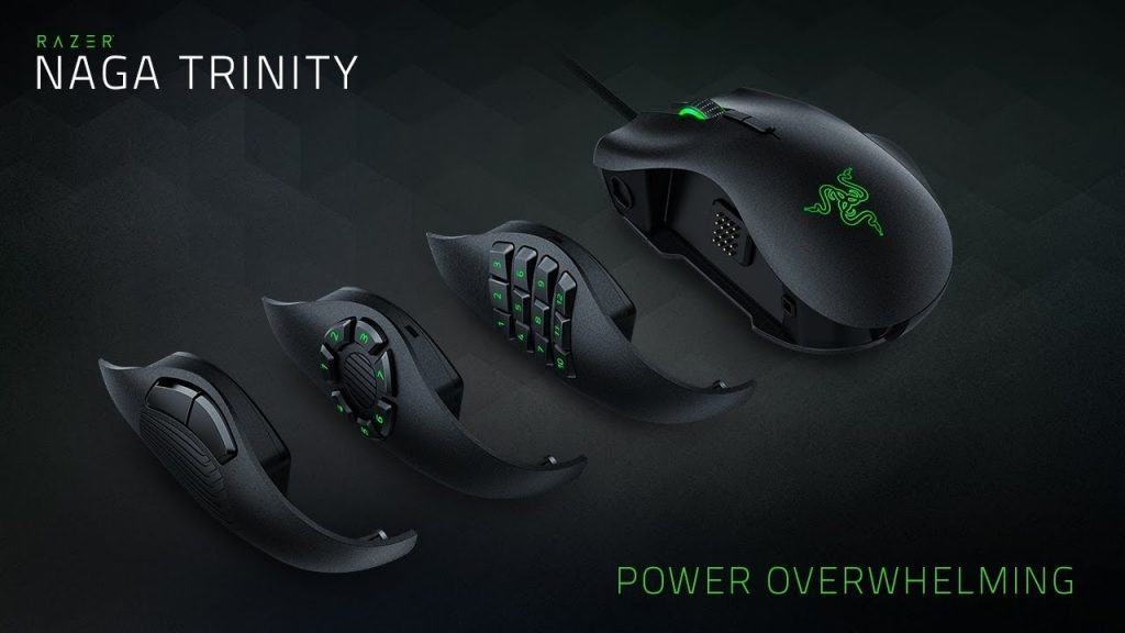 The Razer Naga Pro Side panels