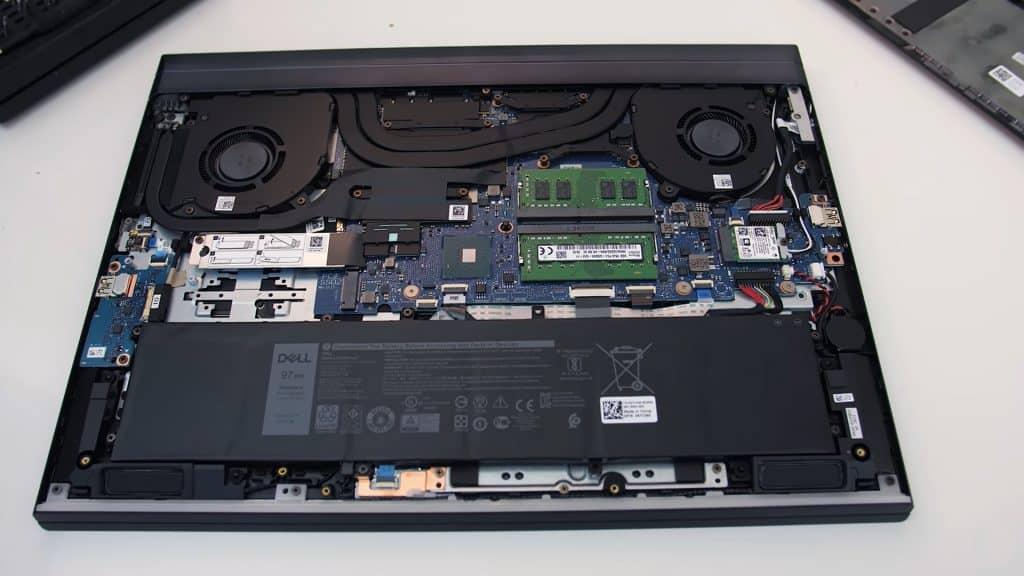 Dell G7 4K OLED Inside