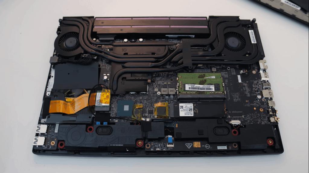 MSI GL65 Leopard 2020 - Hardware