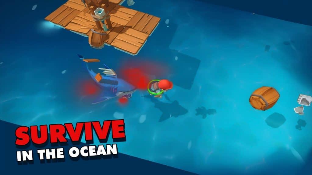 Epic Raft Fighting Zombies