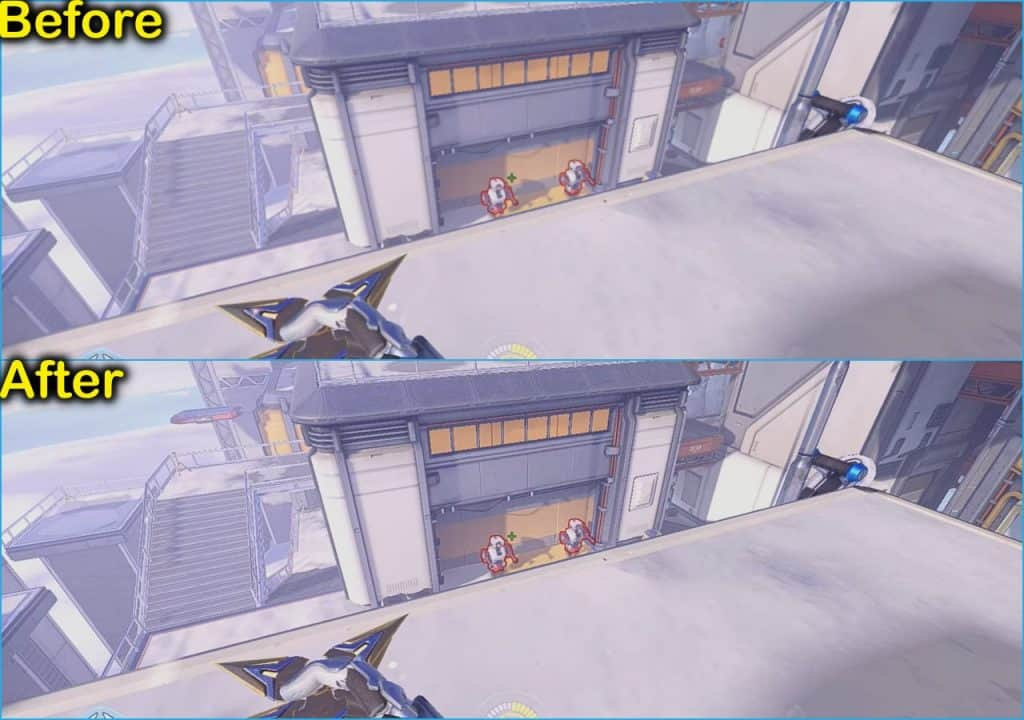 in-game overlay comparison Overwatch