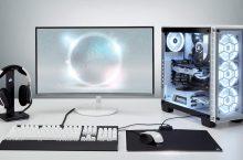 30 Best Looking White Gaming Setup