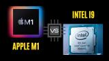Apple Silicon M1 vs Intel i9