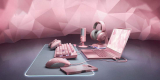 30 Best Looking Pink Gaming Setup for Gamer Girls