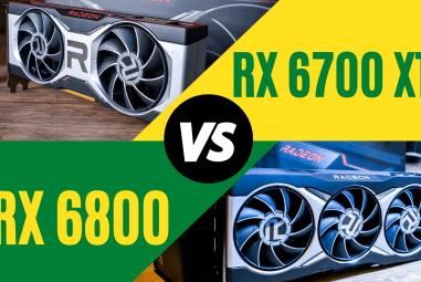 RX 6700 XT VS RX 6800 – Comparison