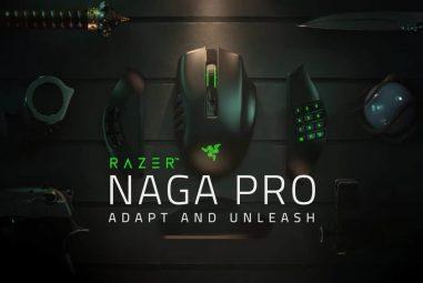The Razer Naga Pro Review – MMO King!